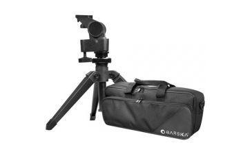 Barska Spotter Pro 22-66x80 Straight-Body Spotting Scope - Black, w/ Tripod, Case AD10352