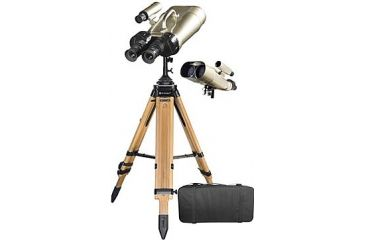 Barska 25x, 62x100 Encounter Jumbo Observation Binoculars w/ 7x50 Finderscope, Case, Tripod AB11192