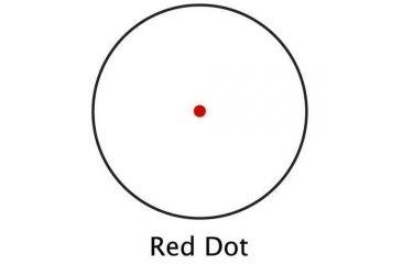 Barska 25mm Red Dot Sight AC10326 w/ Rings & Extension Tube, Box Pack