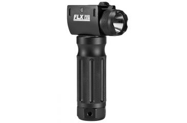 Barska 260 Lumen FLX Flashlight, Tactical Grip, Front BA11878