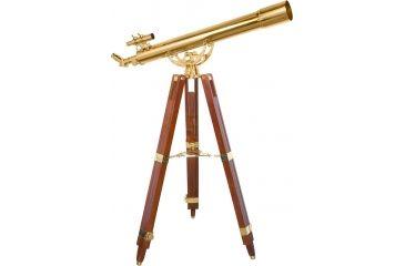 Barska 36x80mm Anchormaster Telescope, Sky & Land Brass Scope w/ Mahogany tripod AE10824