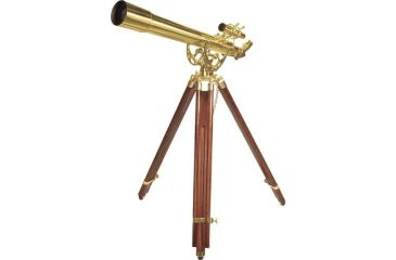 2-Barska 36x80mm Anchormaster Telescope, Sky & Land Brass Scope w/ Mahogany tripod AE10824
