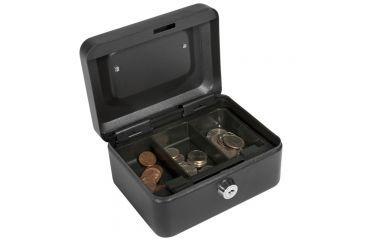 Barska 6in. Cash Box Key Lock, Open CB1182.
