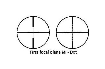 First Focal Plane Mil-Dot Reticle