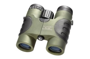 Barska 8x32 Atlantic Waterproof Roof BaK-4 Prism Binoculars, Green, Clam Pack - AB10138