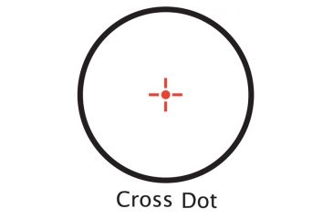 IR Cross Dot Reticle