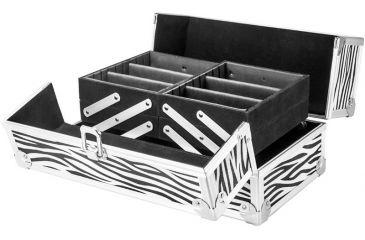 Barska Chéri Bliss Cosmetic Case CC-100, Zebra Print BF11986