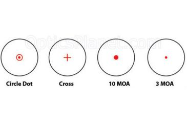 Barska Multi Reticle Electro Sight reticles