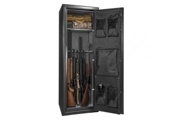 Barska FV-1000 Fire Safe 14-Rifle Vault, L x W x H- 20 in. x 18 in. x 59.06 in. Outer Size, 193865