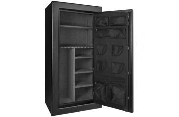 Barska FV-2000 Fire Safe 30-Rifle Vault, L x W x H- 28 in. x 20 in. x 59.06 in. Outer Size, 193866