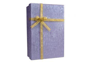 Barska Gift Box Safe with Key Lock, Closed CB11796