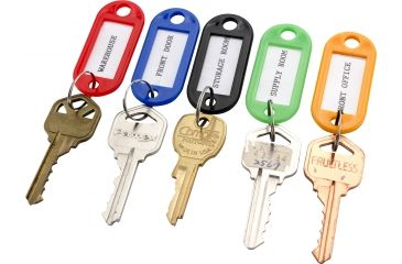 1-Barska Individual Key Tags, Pack of 50