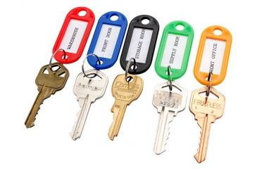 2-Barska Individual Key Tags, Pack of 50