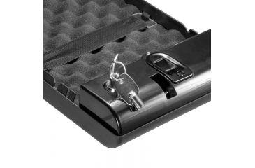 Barska Portable Biometric Compact Safe, Black AX11970