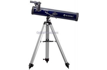 Barska Professional 70076, 350 Power Reflector Telescope - 700mm x 76mm Telescope w/ Tripod - AE10104