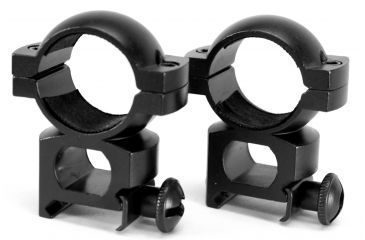 Barska Rifle Scope Rings - 1in Extra High