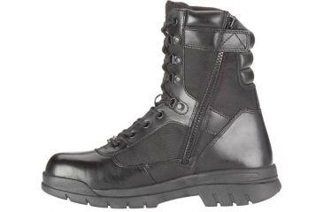 Bates Footwear 8in Steel Toe Side Zip Boot, Black, M 11.0 018461771896