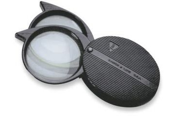 Bausch & Lomb Folding Pocket Two-Lens Magnifier 4x-9x FOLD2L