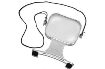 Bausch & Lomb Hands-Free Magnifier 2x 81-33-90 - Paper / Book Reading Magnifier loupe