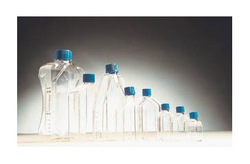 BD Falcon Tissue Culture Flasks, Sterile, BD Biosciences 353135 Canted-Neck Flasks
