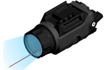 Beamshot Compact Red Laser and Tactical Flashlight Combo BS9000R