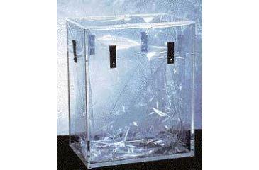 Bel-Art Beta Dry Waste Box with Lid, SCIENCEWARE 249846000