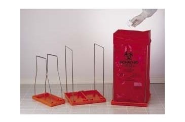 Bel-Art Clavies Biohazard Bag Holders, Autoclavable, SCIENCEWARE 131920001