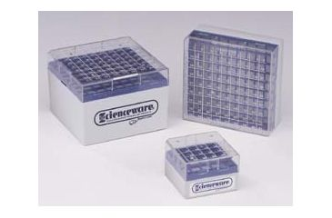 Bel-Art Cryo-Safe Vial Storage Boxes, SCIENCEWARE 188530008 Cryo Tower Storage Systems Eight-Level Tower
