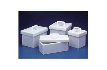 Bel-Art Lead-Lined Polyethylene Storage Boxes, SCIENCEWARE F24960-0002