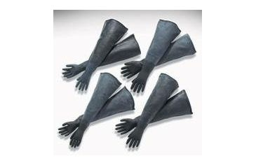 Bel-Art Acrylic Glove Box, SCIENCEWARE T50025-0546 Economy Gloves, Large