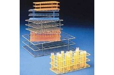 Bel-Art Wire Racks, Epoxy-Coated 187626003 Orange
