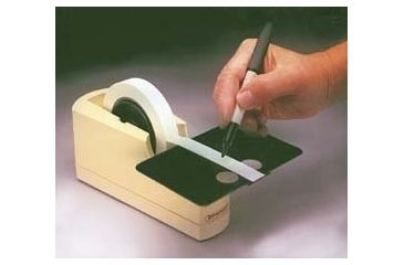 Bel-Art Write-On Label Tape and Dispenser, SCIENCEWARE 134630075 Tape With 7.6 Cm (3'') Core
