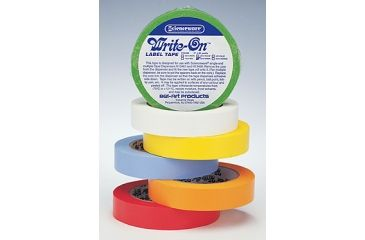Bel-Art Write-On Label Tape, SCIENCEWARE F134623005 Tape Rolls With 2.5 Cm (1) Dia. Core