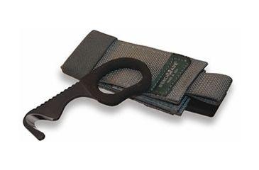 Benchmade 7 Safety Cutter, Black Oxide Coating/ Foliage Green Soft Sheath 7BLKWADC