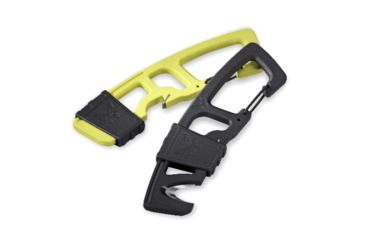 Benchmade 9CB Hook Safety Cutter w/ Carabineer Clip & Bottle Opener, Yellow 9 CB-YEL