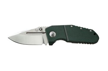 Benchmade MPR Folding Knife, Plain Edge, Satin Blade 755