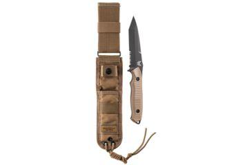 """5-Benchmade Nimravus Fixed Tanto Knife w/ 9.45"""" OAL"""