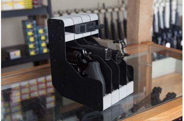 BenchMaster WeaponRAC Four Gun Pistol Rest and Magazine BMWRM24