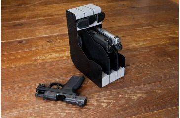 BenchMaster WeaponRAC Three Gun Pistol Rest and Magazine BMWRM23