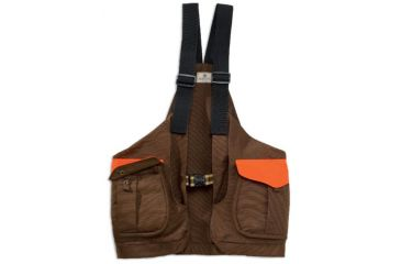Beretta Canvas Strap Vest Brown Blaze Gu4325340850i