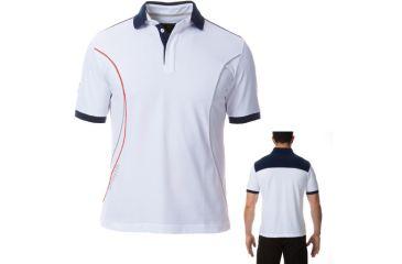 Beretta Men's Pro Polo Shirt, White, Small MT2571020140S