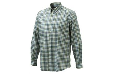 Beretta Mens Drip Dry Shirt,Beige Check,L LU210T0707011XL