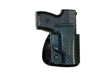 Beretta Nano Abs Cfb Belt Holster Carbon Fiber Look Right Hand With Paddle Attachment G103cnpkrh