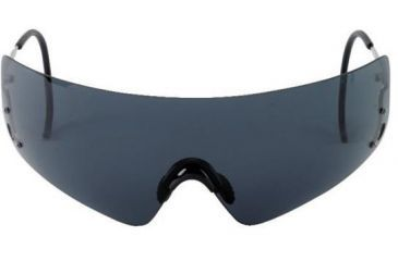 Beretta Shooting Glasses With Black Lenses Metal Frame With Hard Case Oca800020999