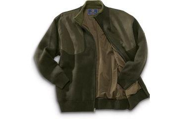 Beretta Sweater Wind Barrier Lining, Long Zip PU33701975S