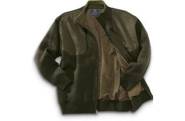 6-Beretta Wind Barrier Sweater w/ Fleece Lining and Full Length Zipper