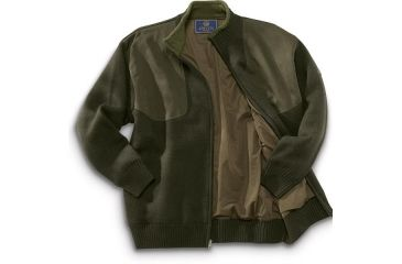 5-Beretta Wind Barrier Sweater w/ Fleece Lining and Full Length Zipper
