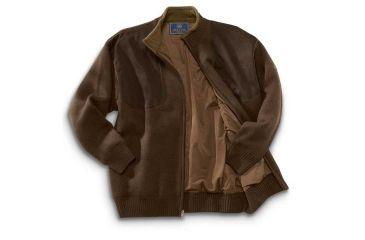 3-Beretta Wind Barrier Sweater w/ Fleece Lining and Full Length Zipper