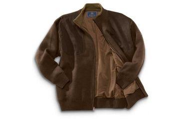 8-Beretta Wind Barrier Sweater w/ Fleece Lining and Full Length Zipper