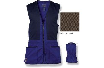 Beretta Trap Cotton Vest, Dark Earth, Small GT4000740851S